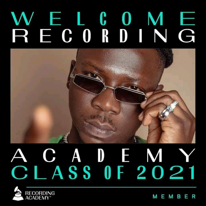 Stonebwoy Joins Grammy's Recording Academy Class Of 2021