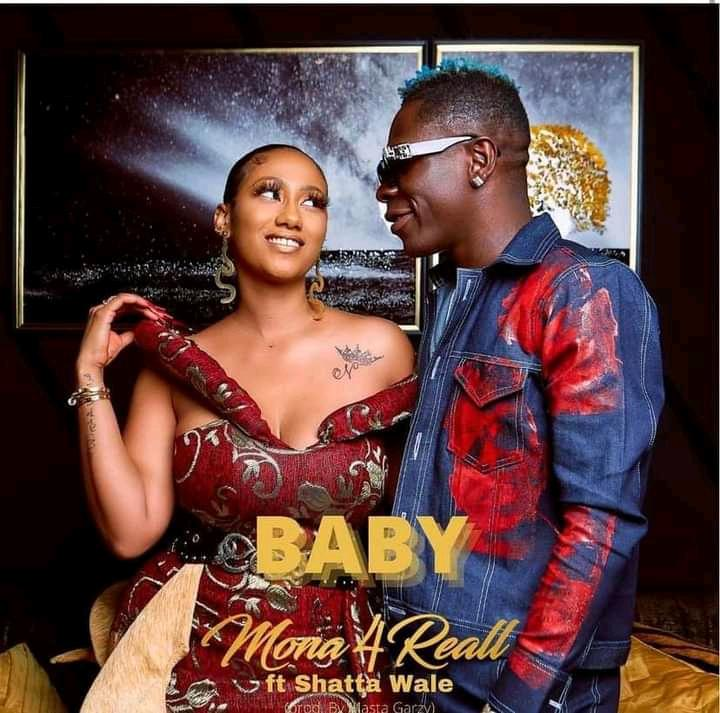 """Mona 4 Reall Recruits Shatta Wale On A New Song """"Baby"""""""