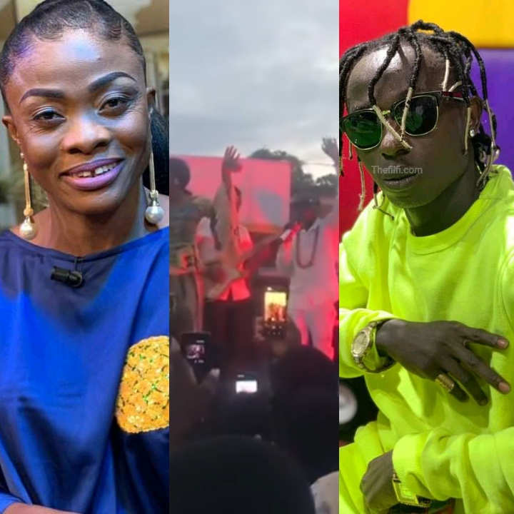 Diana Asamoah Condemned For Performing With Patapaa