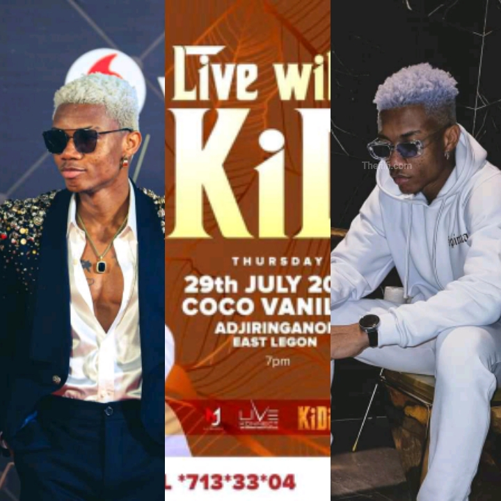 Kidi To Host Concert Lately The Month, Check Details