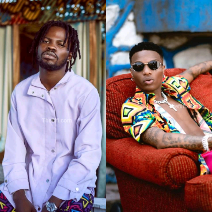 Fameye Gladly Reveals He's Recorded A Song With Wizkid