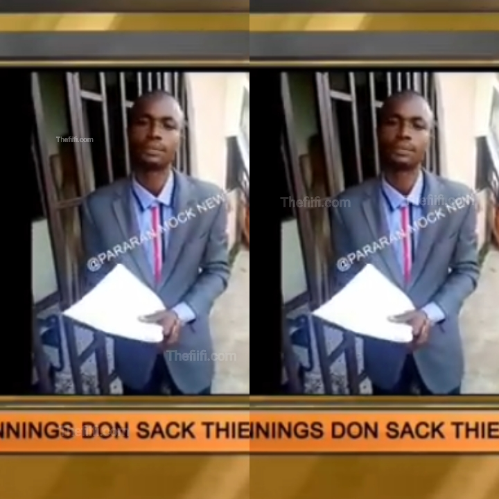 Video: Pastor Sacked From Church For Not Meeting Tithe And Offering Target