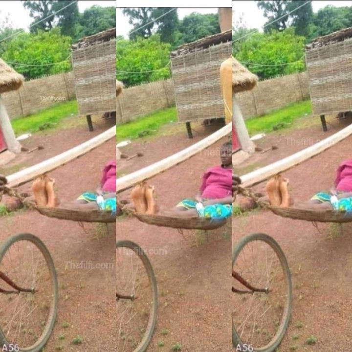 A Style Of Transporting Patients To Hospital In A Village Causes Stir On Social Media