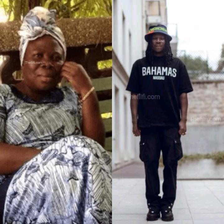 6 Years On: Every Single Day I Hear You Speak To Me – Stonebwoy Remembers His Late Mum