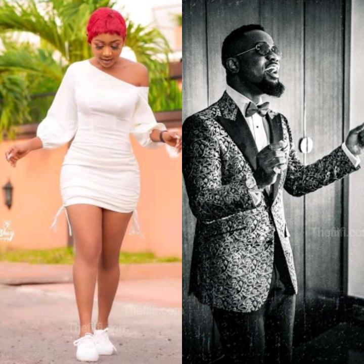 """Akuapem Poloo Jubilates After Hearing Her Name In A Song On Sarkodie's """"No Pressure"""" Album"""