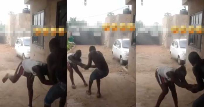 Video: A Guy Drags A Lady To Go And Chop After Spending Enough On Her