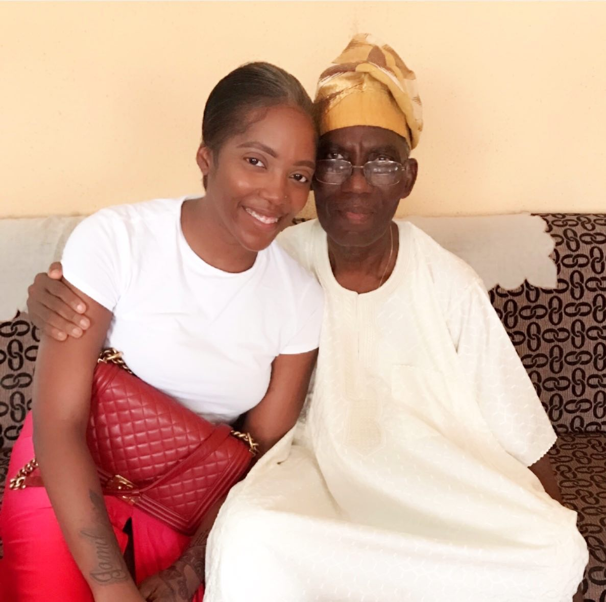 Tiwa Savage Loses Her Father Weeks After Losing Boyfriend