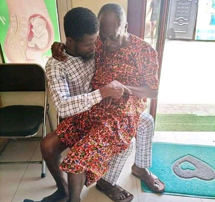 Veteran Actor Kohwe Is Not In A Good Condition(Photos)