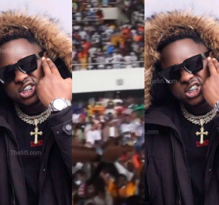 Video: The People Came Out: Medikal Thrilled Fans In Tamale