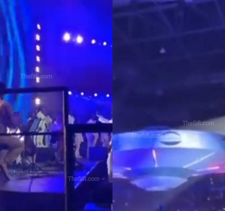 Watch: Burna Boy Makes Heaven Appearance At The O2 Arena