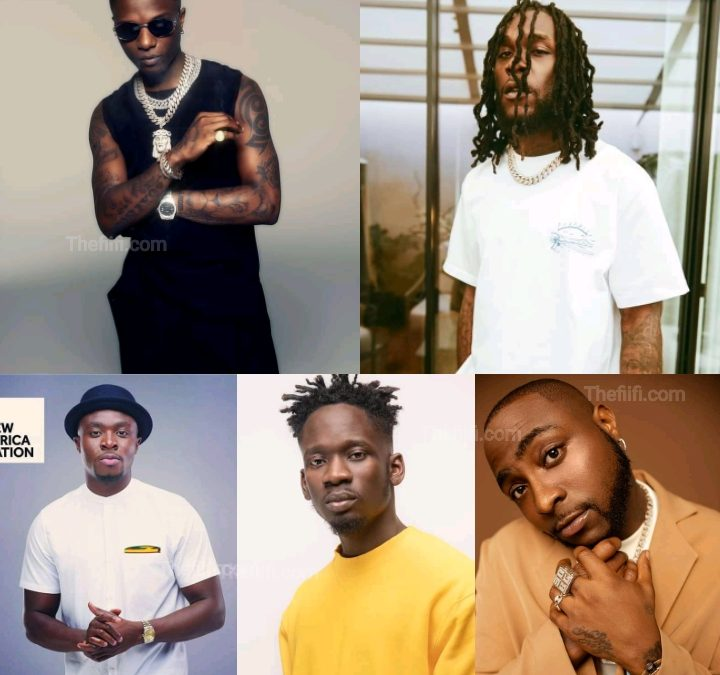 Top 5 Most Streamed African Artistes On Spotify – African Fact Zone
