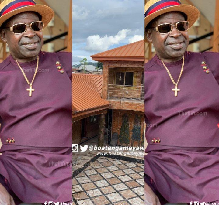 The Beautiful Mansion Amakye Dede Has Built For His Family(Photos)