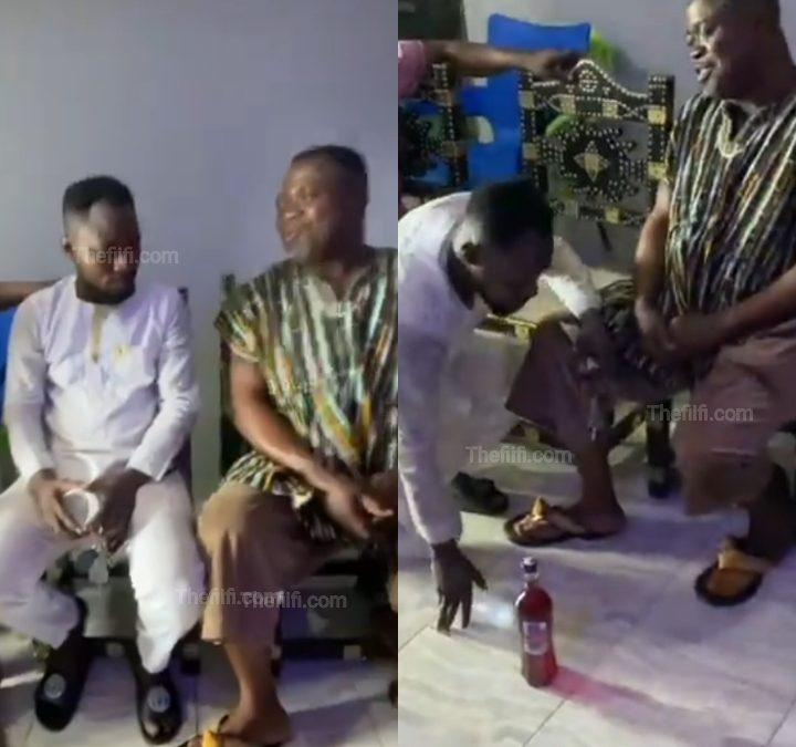 Video: Chief In The Eastern Region Gives Funny Face 30 Acres Of Land