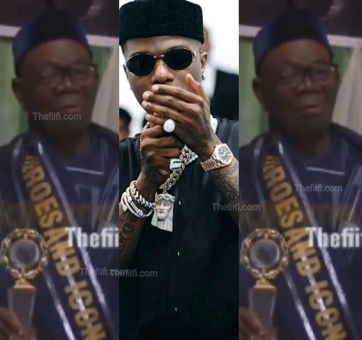 Video: Wizkid's Father Wins Award For His Major Contributions To Development