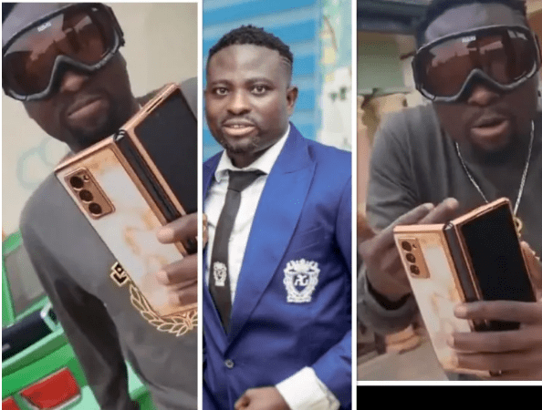 Video: Nation's Worshiper, Brother Sammy Turns A Rapper (Watch)