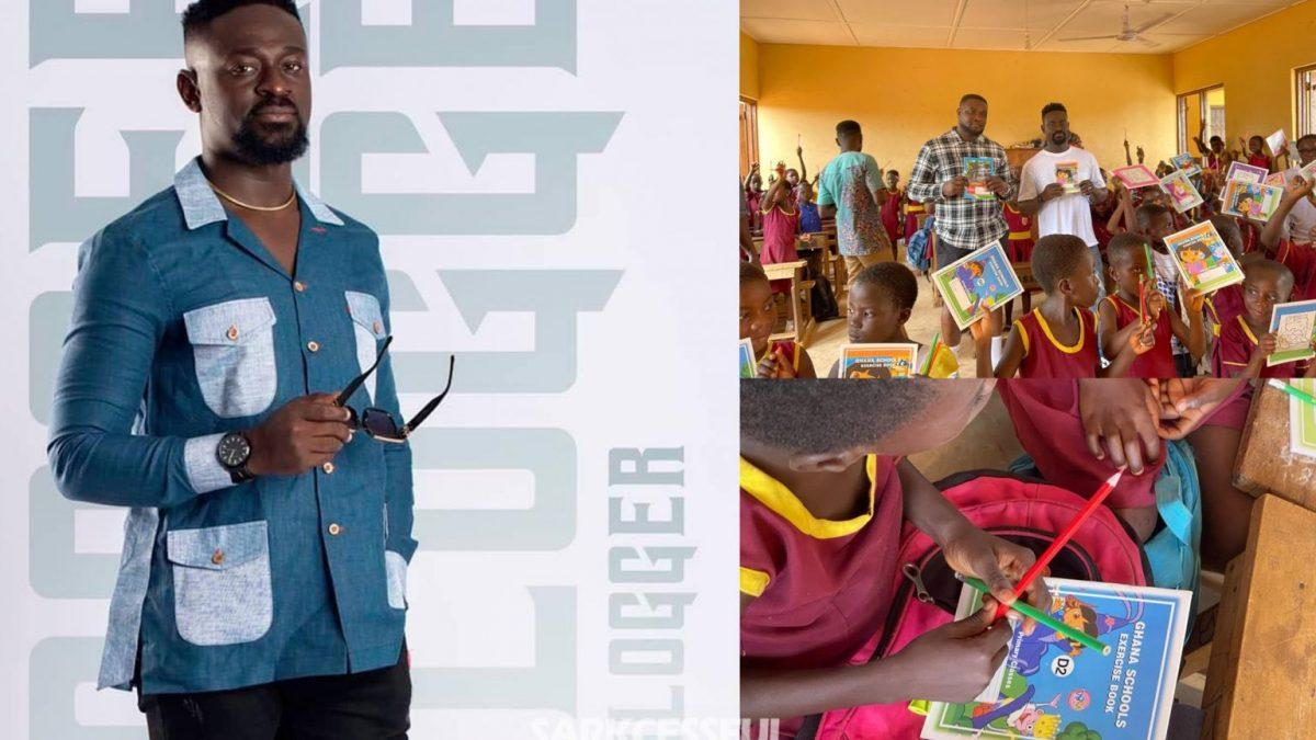 Blogger Kobby Kyei Supports Salvation Army Basic School, Agona Duakwa With His Team
