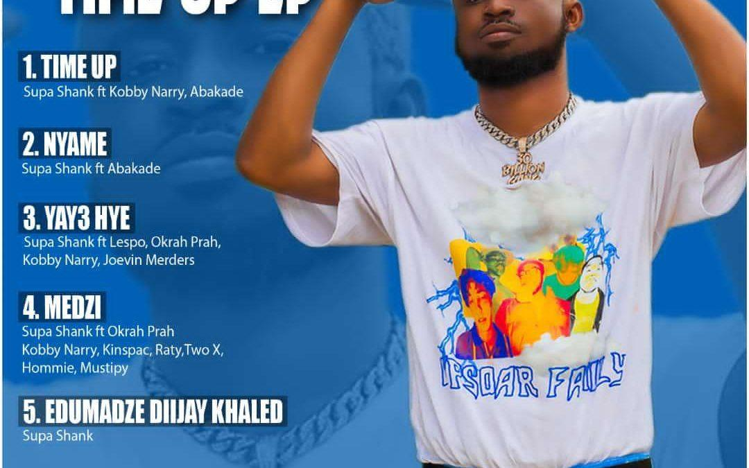 """Supa Shank Set To Release Debut EP Dubbed """"Time Up"""""""