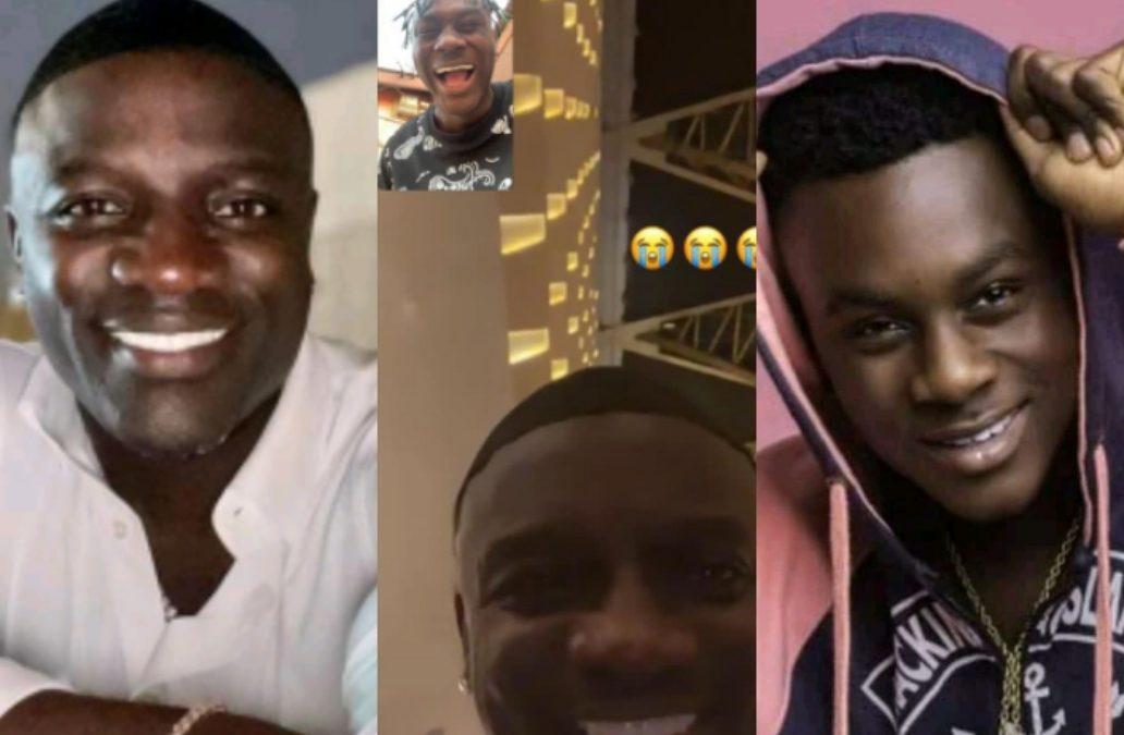 Akon Vibes With Laruso For A Collaboration