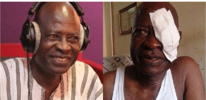 I'm Blind And Broke – Actor William Addo Pleads With The Public For Financial Support